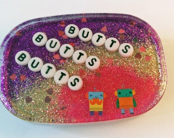 Butts Butts Butts: Bathroom Decor, Geekery Geek, Gift for Him, Funny White Elephant Ideas, Unique Gifts for Men, Birthday Gag Gift