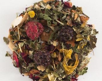 Raspberry Mint Medley Herbal Tea