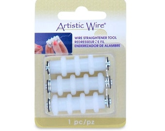 Artistic Wire Straightener Tool, Compact and Easy-to-Use