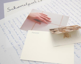 Personal Letter, Handwritten, Dutch text, paper goodies, whimsical mail, snailmail, diversity