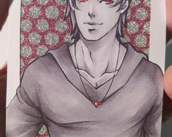 Limited Print Aceo / ATC  Red Version