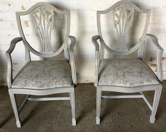 Set of Four Chairs / Stunning Grey