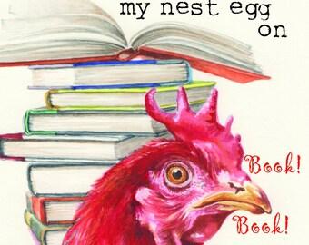 Nest Egg notecard