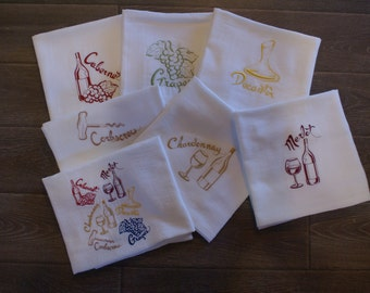 Wine Collection  (Set of 7) - Made to Order
