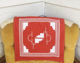 Handprinted Bandana/Handkerchief