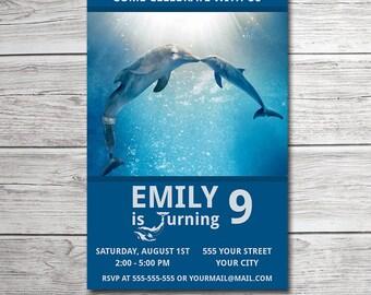 Dolphin tale invite etsy filmwisefo