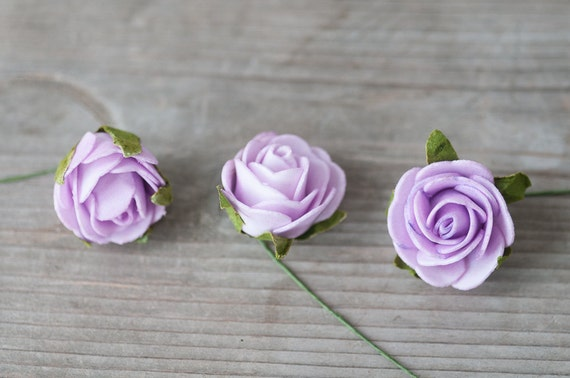 Lavender fake foam roses artificial craft roses small foam flowers lavender fake foam roses artificial craft roses small foam flowers floral supplies fake rose heads flowers for crafts artificial flowers from mightylinksfo