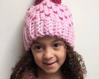 Crochet Chunky Fair Isle Beanie