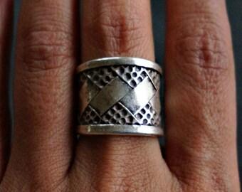 Abdu Sterling Silver Ring Statement Ring Boho Ring