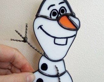 Stained Glass Olaf