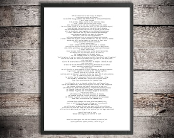Martin Luther King Jr Download Quote Print 'I have a dream' Washington March Civil Rights Speech Black History Printable Nonviolent Protest