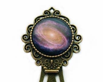 NASA Photograph Purple Galaxy Bookmark