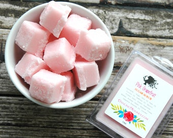 Pink Grapefruit Sugar Scrub . Valentines Day Gift . Solid Sugar Scrub Cubes . Galentines Day . Best Friend Birthday Gift . Mothers Day Gift