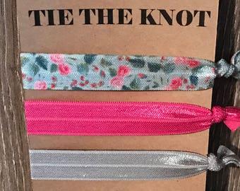 Tie the knot bridal shower favor