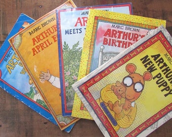 Arthur Adventure Book Your Choice of Title Arthur's April Fool Family Vacation New Puppy Birthday Meets the President by Marc Brown