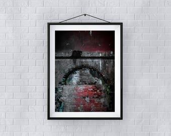 Ripper - Premium Quality – Wall Art - Giclée Print – Urban Art - Martin Sylvester - Sylvo81