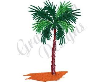 Palm Tree - Machine Embroidery Design