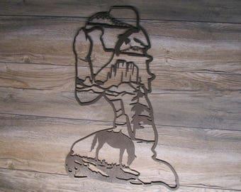 Cowgirl Prayer Wall Art