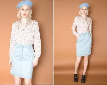 Vintage Studded Skirt