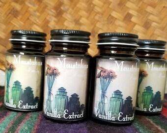 Pure Vanilla Extract - 2.5 Ounces -Tahitian Vanilla Beans - makes the best vanilla ice cream
