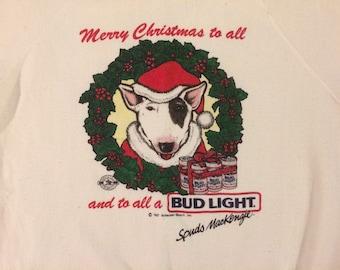 1987 Spuds MacKenzie sweatshirt