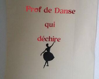 Tote bag, dance teacher