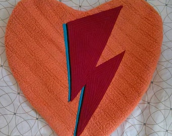 LoVe Stuffins©... Ziggy Stardust - Stole My Heart... David Bowie - Throw PiLLoW... Handmade - Ready2Ship...