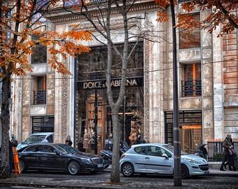 AUTUMN IN PARIS #7 Digital Photo Art Photography