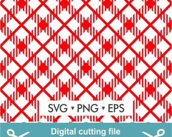 Buffalo plaid Svg / Buffalo pattern Svg / Plaid Svg / Buffalo Svg / Cutting files for use with Silhouette Cameo, ScanNCut and Cricut