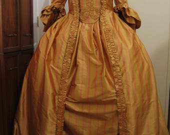 French Colonial  Gown size 14-16