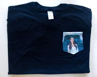 Lana del rey lust for life pocket tee