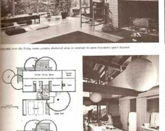 1967 Ideas For Planning Your New Home Mid Century Modern Home Plans Designs