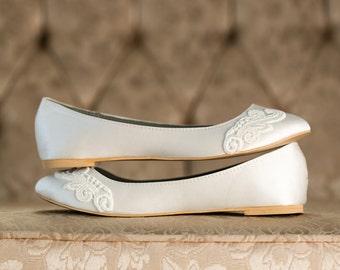 Lace wedding shoes | Etsy
