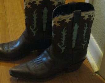 LUCCHESE BOOTS Size 9.5 Boots Dale Evans