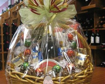 Cellophane wrap etsy size 18x20 dome shrink wrap basket negle Image collections