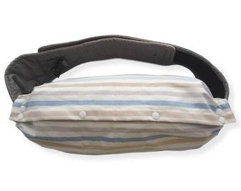 BABY CARRIER Bag--IKEA Fabric,For Ergo Baby,Tula,Mei Tai,Beco,Boba,Manduca,Case,Storage of Baby Carrier,Sack Bag,Blue White Grey Stripes