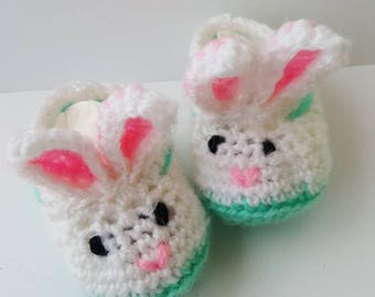 Cute bunny baby slippers