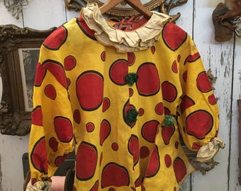 Keep The Clown & Just Send In The Vintage Polka Dotted Costume