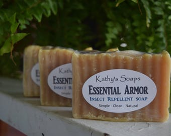 Citronella Soap, Bug Repellent Soap, Camping Soap, Bug Soap, Mosquito Repellent Soap, Insect Repellent Soap,  NO DEET, All Natural Bug Soap