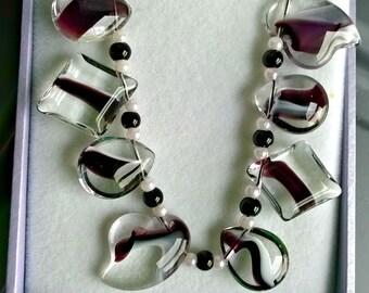 New handmade glass bracelet