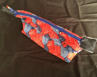 Cowboy Zipper Pouch; Essential Oil/Make Up Bag; Oil Pouch