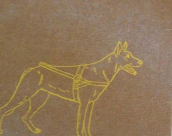 Follow My Leader book, James Garfield, guide dog for the blind, 1957 children