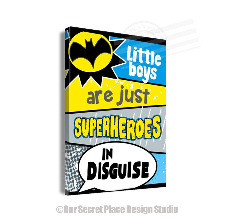 Great Superhero Wall Art Gallery - The Wall Art Decorations ...
