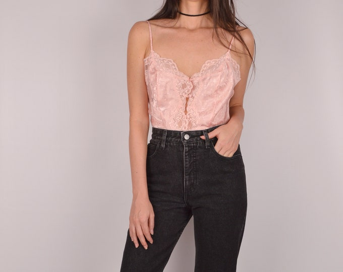 Vintage Pastel Pink Camisole / S