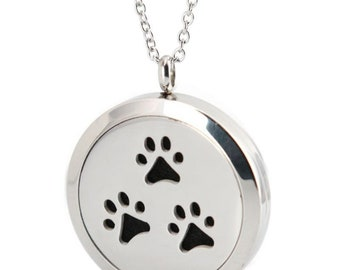 Animal Lover  Essential Oil Necklace Diffuser