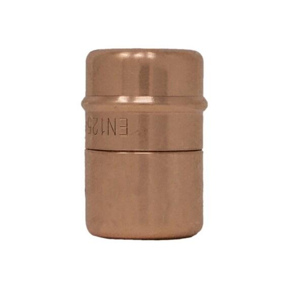 QuirkHub® Indymax Kupfer Knopf Möbelgriffe Kupfer