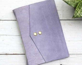 Lavender & Green A5 Leather Journal