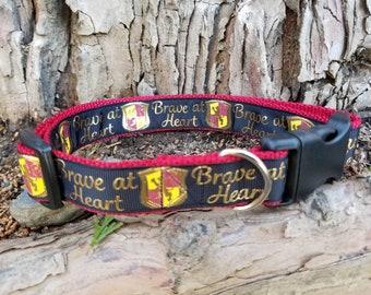 "Dog collar, worded dog collar, dog collar with saying, 1"", fun dog collar, cute dog collar, adjustable dog collar, puppy collar, Dog, pet"