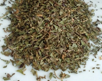 2 ounces dried Peppermint Leaf incense smudging native herbs USA Grown Herbal Tea Mentah Peperita