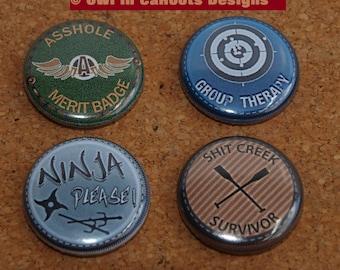 Adult Merit badges-set of 4